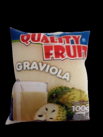 imagem de POLPA QUALITY FRUIT GRAVIOLA 100G