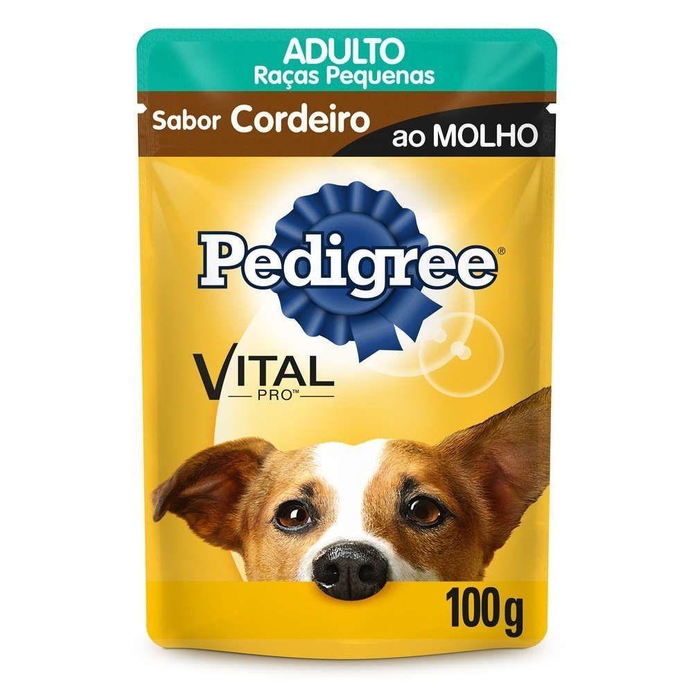 imagem de RACAO PEDIGREE AD CORD MOLHO SACH 100G