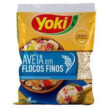imagem de AVEIA YOKI FLOCOS FINOS INSTANTANEO 500G