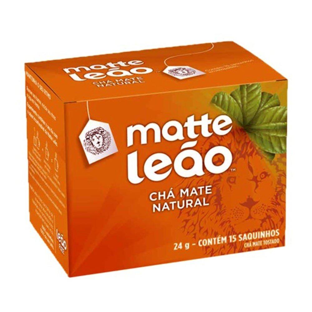 imagem de CHA MATTE LEAO NATURAL C/10