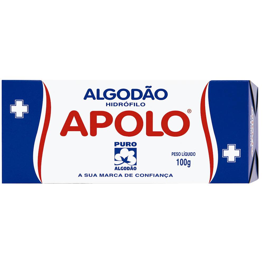 imagem de ALGODAO APOLLO HIDROFILO 100G