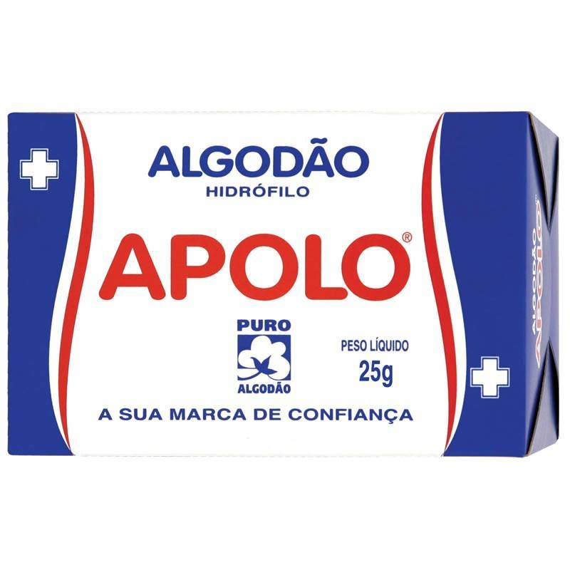 imagem de ALGODAO APOLLO HIDROFILO  25G