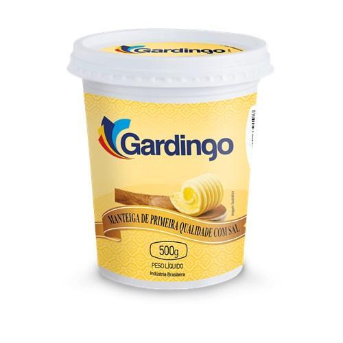 imagem de MANTEIGA GARDINGO C/SAL 500G