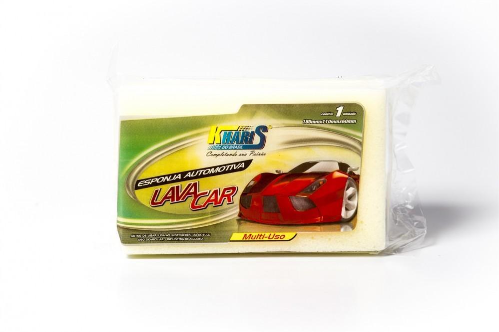 imagem de ESPONJA KHARIS LIMP CAR LAVANDA 180X110X60MM
