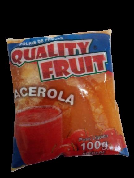 imagem de POLPA QUALITY FRUIT ACEROLA 100G
