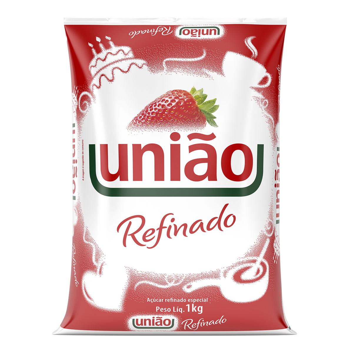 imagem de ACUCAR REFINADO AMORFO UNIAO 1KG