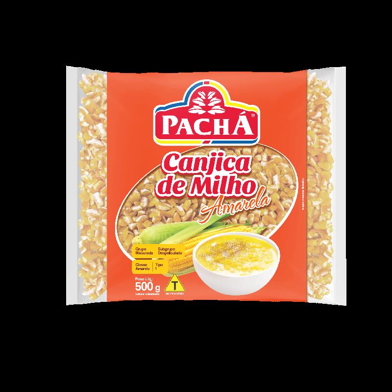 imagem de CANJICA PACHA AMARELA 500G