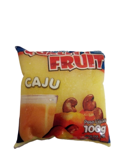 imagem de POLPA QUALITY FRUIT CAJU 100G