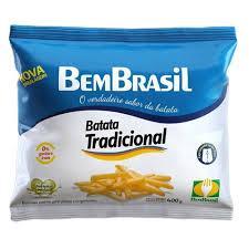 imagem de BATATA PALITO BEM BRASIL PRE-FRITA 400G