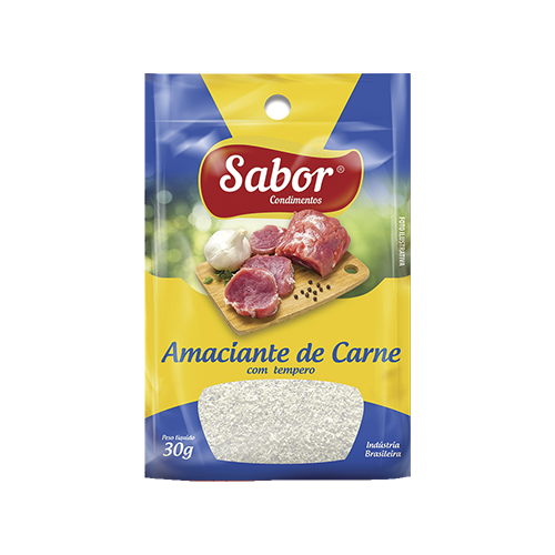 imagem de AMAC DE CARNE SABOR C/TEMPERO 30G