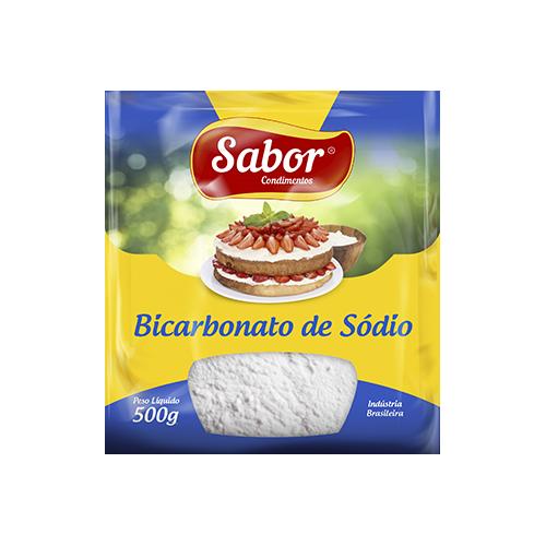 imagem de BICARBONATO DE SODIO SABOR PCT 500G