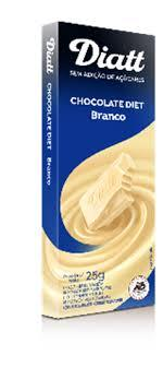 imagem de CHOCOLATE DIATT DIET BRANCO 25GR