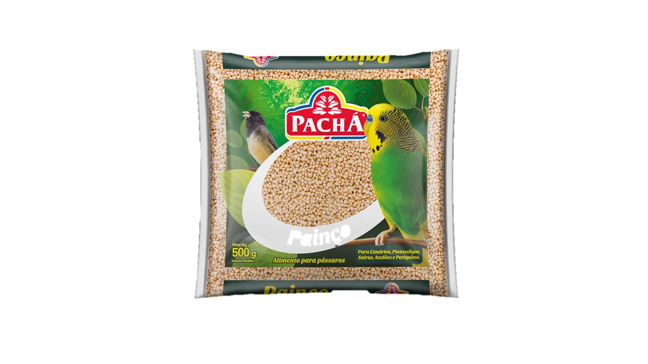 imagem de RACAO PACHA PASSARO PERIQUITOS 500G