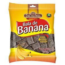 imagem de BALA DACOLONIA DE BANANA TRADICIONA 160G