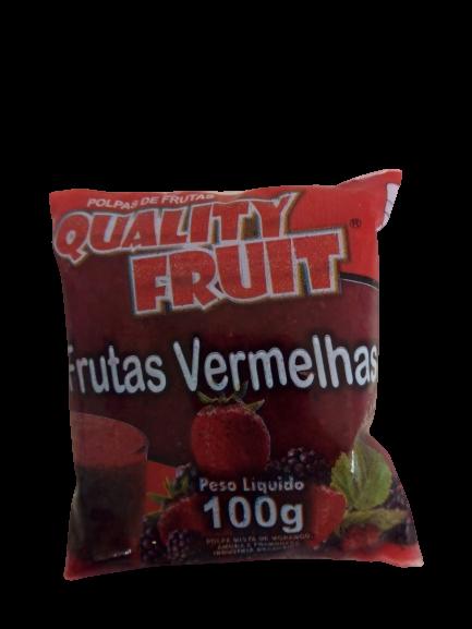 imagem de POLPA QUALITY FRUIT FTS VERMELHAS 100G