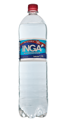 imagem de AGUA MINERAL INGA C/GAS 1500ML