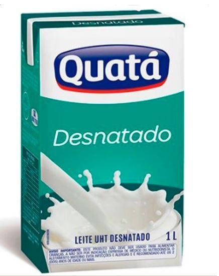 imagem de LEITE LV QUATA DESNATADO 1L