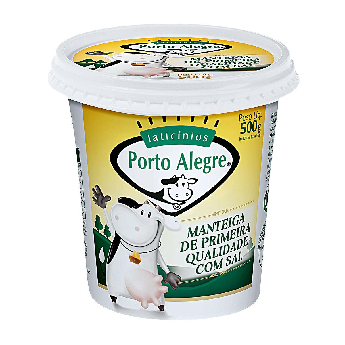 imagem de MANTEIGA PORTO ALEGRE 500G