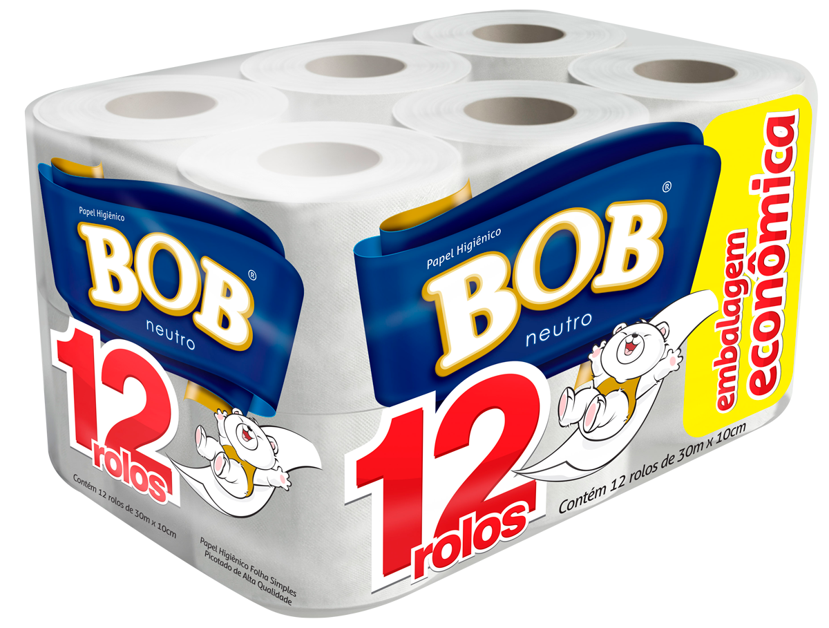 imagem de PAPEL HIG BOB 12 60M FOLHA SIMPLES