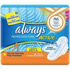 imagem de ABSORVENTE ALWAYS com AB ACTIVE COM 8 SECA