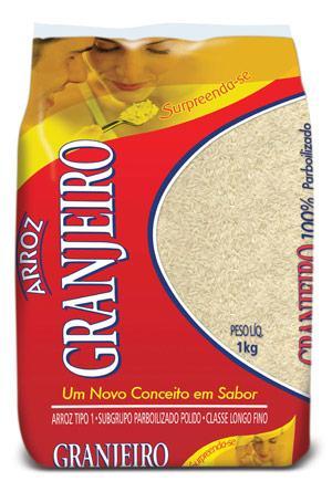 imagem de ARROZ GRANJEIRO PARBOLIZADO TP1 INT 1KG
