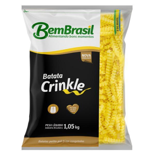 imagem de BATATA BEM BRASIL CRINKLE PRE FTA 1,05KG