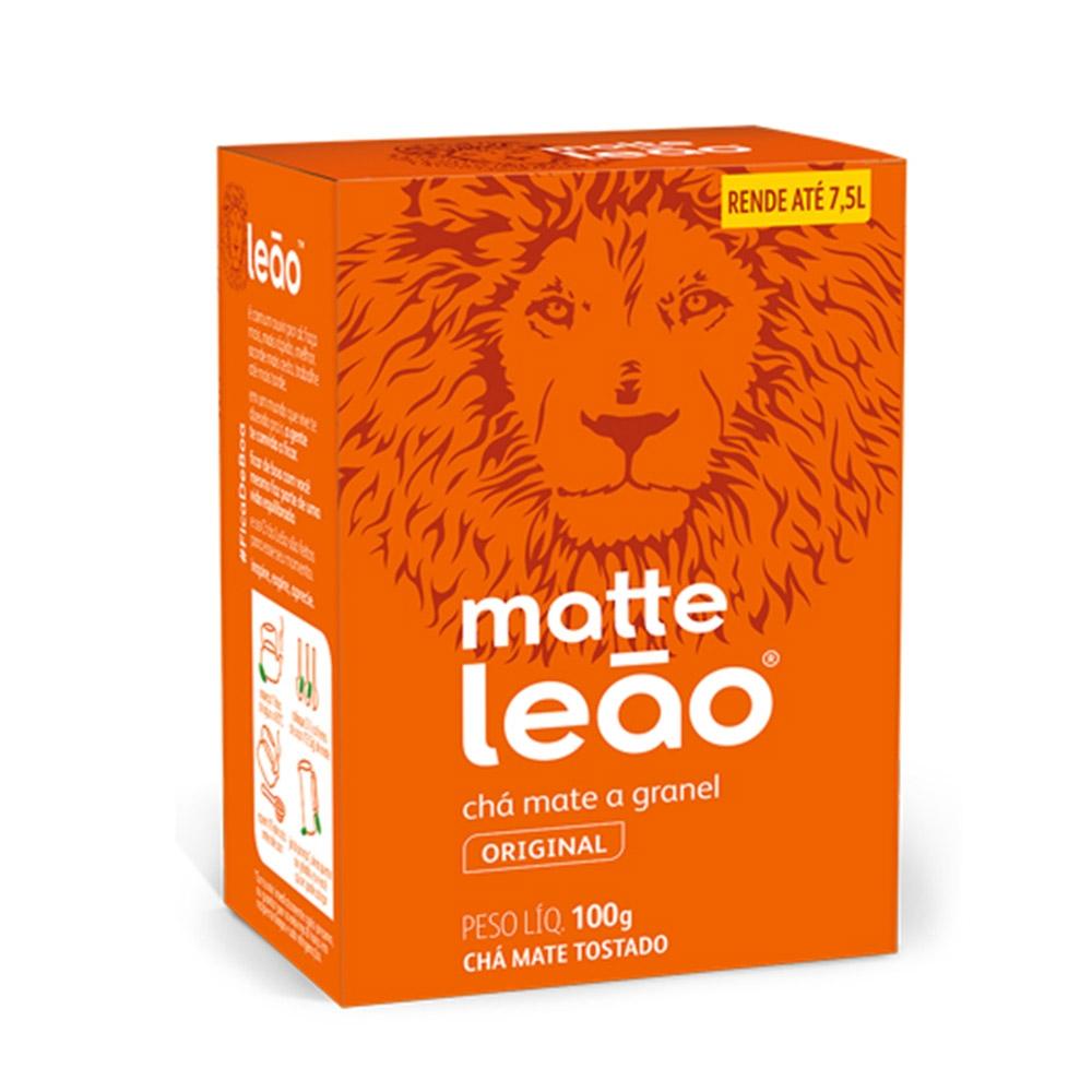 imagem de CHA MATTE LEAO TOSTADO 100G