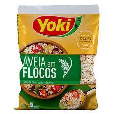 imagem de AVEIA YOKI FLOCOS 500G