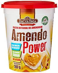 imagem de PASTA DE AMENDOIM DACOLONIA  POWER 500G