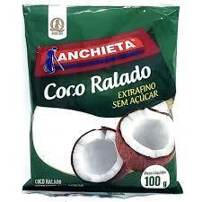 imagem de COCO ANCHIETA RALADO S/ACUCAR 100G