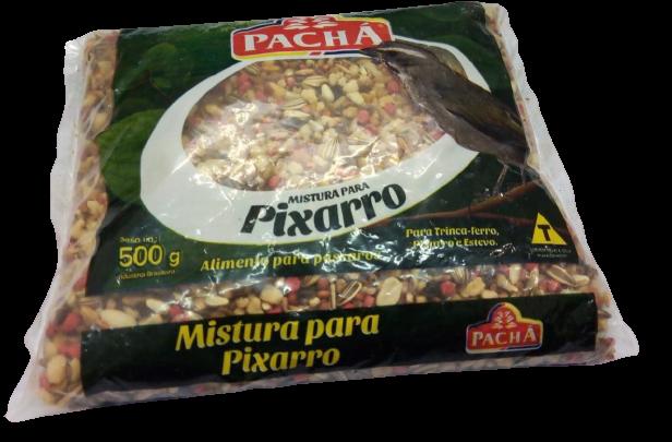 imagem de RACAO PACHA PASSARO PIXARRO 500G