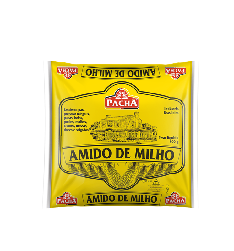 imagem de AMIDO DE MILHO PACHA 500G
