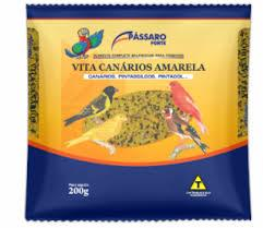 imagem de RACAO PASSARO FORTE VITA AMARELA 200G