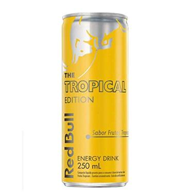 imagem de ENERGETICO RED BULL TROPICAL 250ML