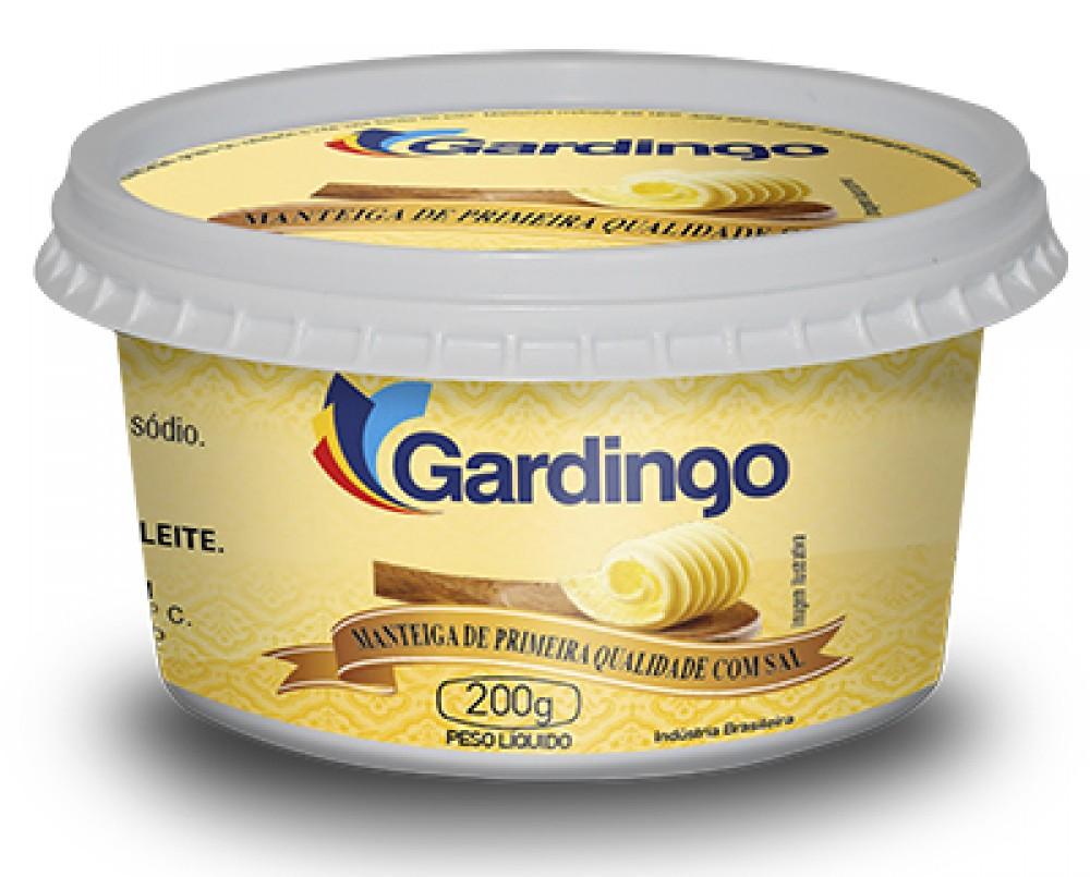 imagem de MANTEIGA GARDINGO COM SAL 200G