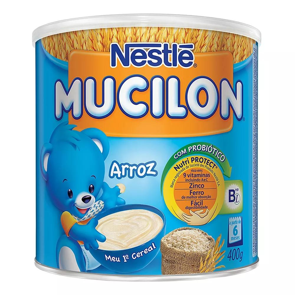 imagem de CEREAL INFANTIL MUCILON ARROZ 400G