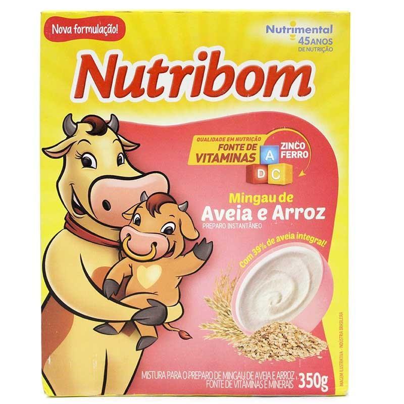 imagem de MIST MINGAU NUTRIBOM ARROZ/AVEIA 350G