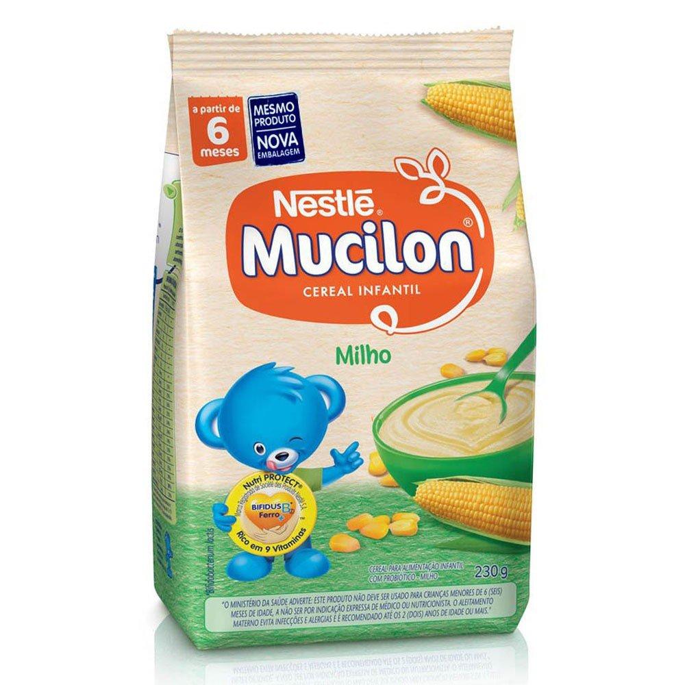 imagem de CEREAL INF MUCILON SACH MILHO 230G