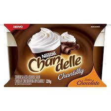 imagem de SOBR CHANDELLE CHANTILY CHOCOLATE 200G