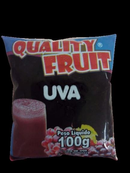 imagem de POLPA QUALITY FRUIT UVA 100G