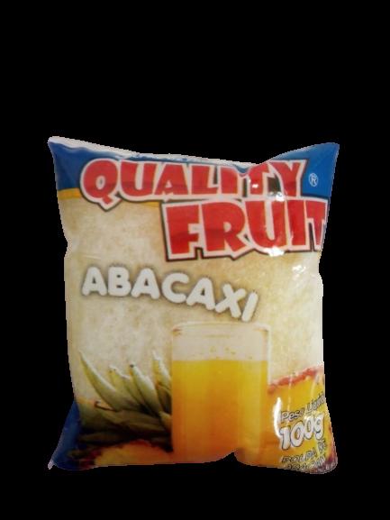 imagem de POLPA QUALITY FRUIT ABACAXI 100G